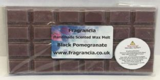 85 gram Highly Scented Wax Melt bar (BLACK POMEGRANATE)